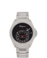 Reloj plateado de Salvatore Ferragamo