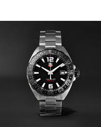 Reloj plateado de Tag Heuer