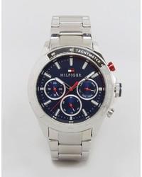 Reloj plateado de Tommy Hilfiger