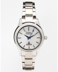 Reloj plateado de Vivienne Westwood
