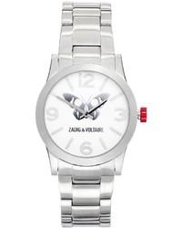 Reloj plateado de Zadig & Voltaire