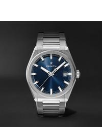 Reloj plateado de Zenith