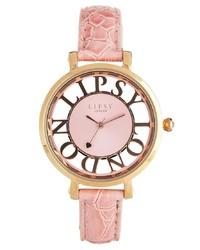 Reloj rosado de Lipsy