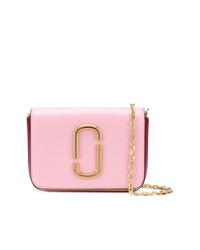 Riñonera de cuero rosada de Marc Jacobs