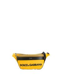 Riñonera de lona amarilla de Dolce & Gabbana