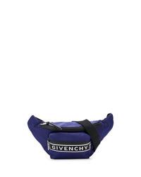 Riñonera de lona azul marino de Givenchy