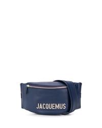 Riñonera de lona azul marino de Jacquemus