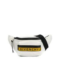 Riñonera de lona blanca de Givenchy