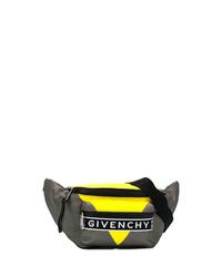 Riñonera de lona en gris oscuro de Givenchy