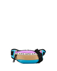 Riñonera de lona en multicolor de A.P.C.