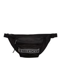 Riñonera de lona en negro y blanco de Givenchy