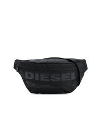 Riñonera de lona negra de Diesel