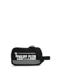 Riñonera de lona negra de Philipp Plein