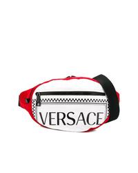 Riñonera de nylon en multicolor de Versace