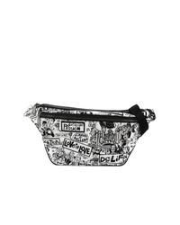 Riñonera en blanco y negro de Dolce & Gabbana
