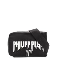 Riñonera en negro y blanco de Philipp Plein