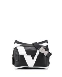 Riñonera en negro y blanco de Valentino