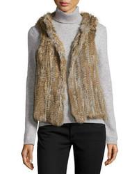 Comprar una ropa de abrigo de pelo marrón  elegir ropas de abrigo de ... 1857ab24fba8