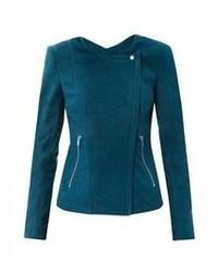 Ropa de abrigo en verde azulado
