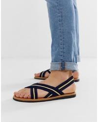Sandalias azul marino de ASOS DESIGN