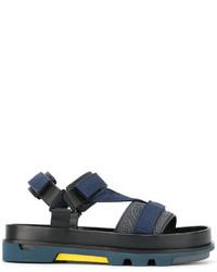 Sandalias azul marino de Emporio Armani