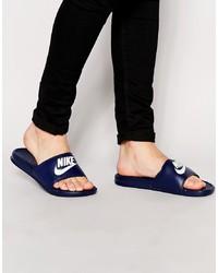 Sandalias azul marino de Nike