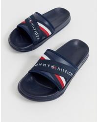 Sandalias azul marino de Tommy Hilfiger