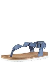 Sandalias azules de Esprit