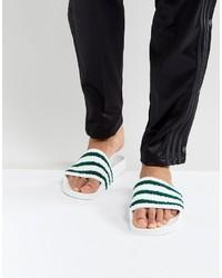 Sandalias blancas de adidas