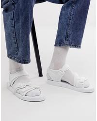 Sandalias blancas de ASOS DESIGN