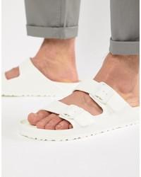 Sandalias blancas de Birkenstock