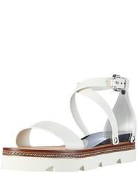 Sandalias blancas de Casadei