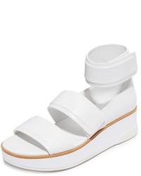 Sandalias blancas de DKNY