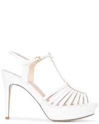 Sandalias blancas de Fendi