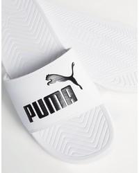 Sandalias blancas de Puma