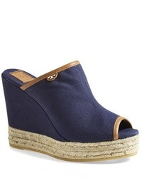 Sandalias con cuna azul marino original 1640805