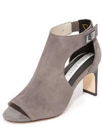 Sandalias de ante con recorte grises de Matt Bernson