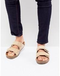 Sandalias de ante en beige de Eastland