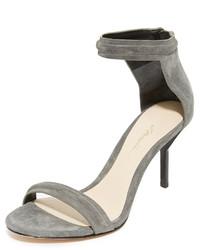 Sandalias de ante grises de 3.1 Phillip Lim