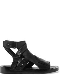 Sandalias de cuero con tachuelas negras de 3.1 Phillip Lim