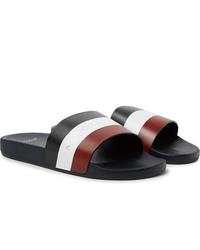 Sandalias de cuero en multicolor de Moncler