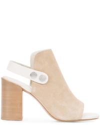 Sandalias de cuero marrón claro de Rag & Bone