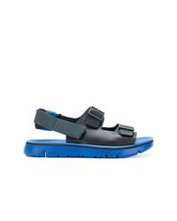Sandalias de cuero negras de Camper