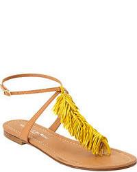 Sandalias de Dedo Amarillas