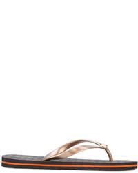 Sandalias de dedo marrónes de MICHAEL Michael Kors