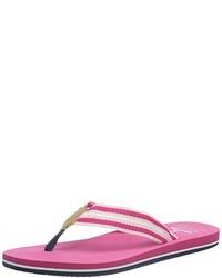 Sandalias de dedo rosa de Gaastra