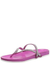 Sandalias de dedo rosa de Inuovo
