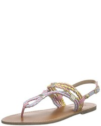 Sandalias de dedo rosadas de Pepe Jeans