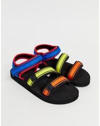 Sandalias de lona en multicolor de ASOS DESIGN