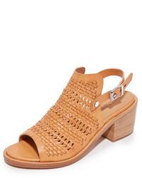 Sandalias de tacón marrón claro de Rag & Bone